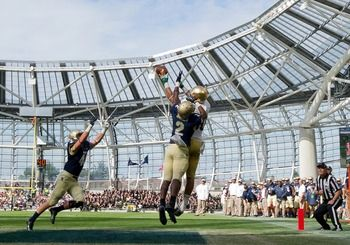 Notre Dame Vs Navy Grades Analysis For Irish Notre Dame