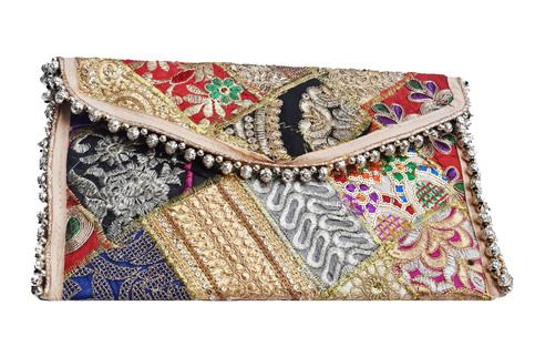 07db813a97 Great variety of ethnic Indian clutches, evening bags & designer #clutches,  Handcrafted handmade hippie patchwork Rajasthani sling clutch handbags for  women ...