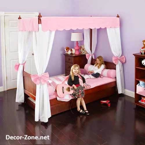 11 Amazing Canopy Bed Curtains For Kids Idea Snapshot & canopy bed curtains ideas for girlu0027s room | Girls rooms ...