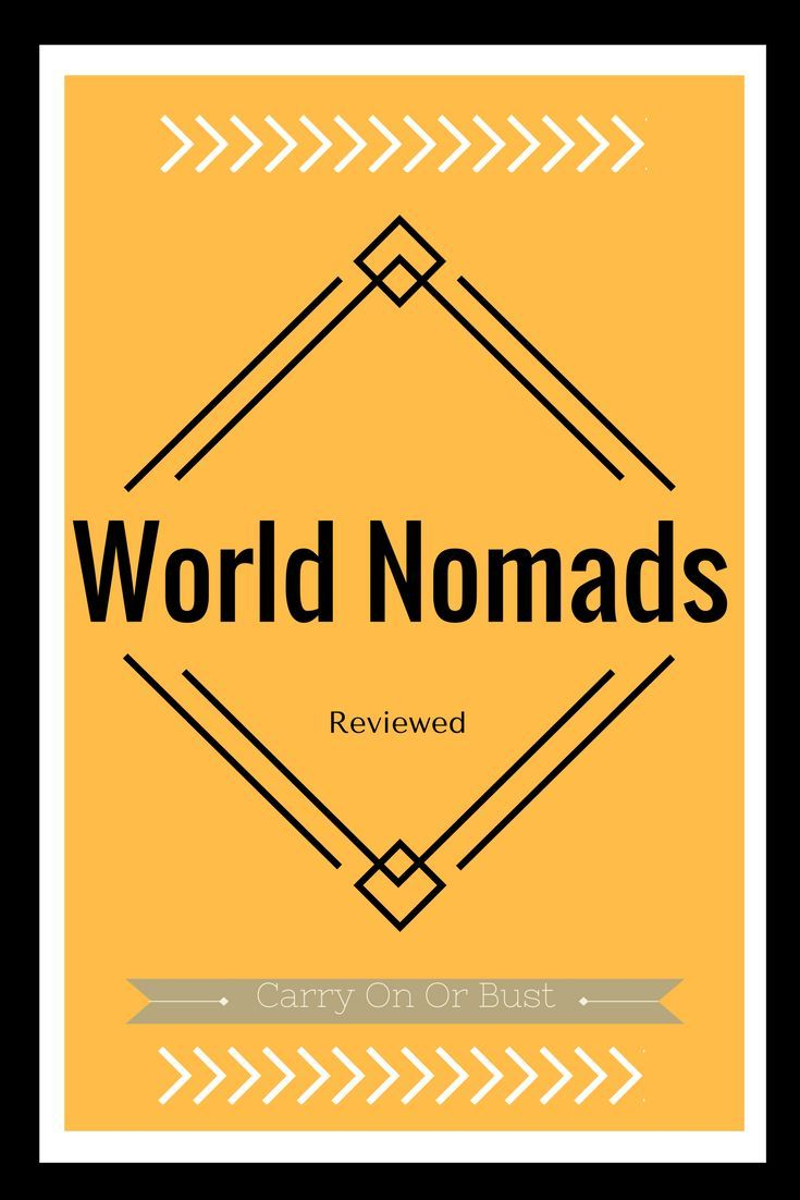 World Nomads Insurance Review Travel Insurance Reviews Travel
