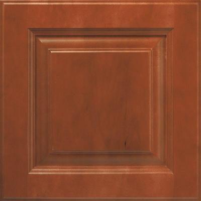 Bathroom Cabinet Doors Home Depot thomasville 14.5x14.5 in. cabinet door sample in plaza brierwood