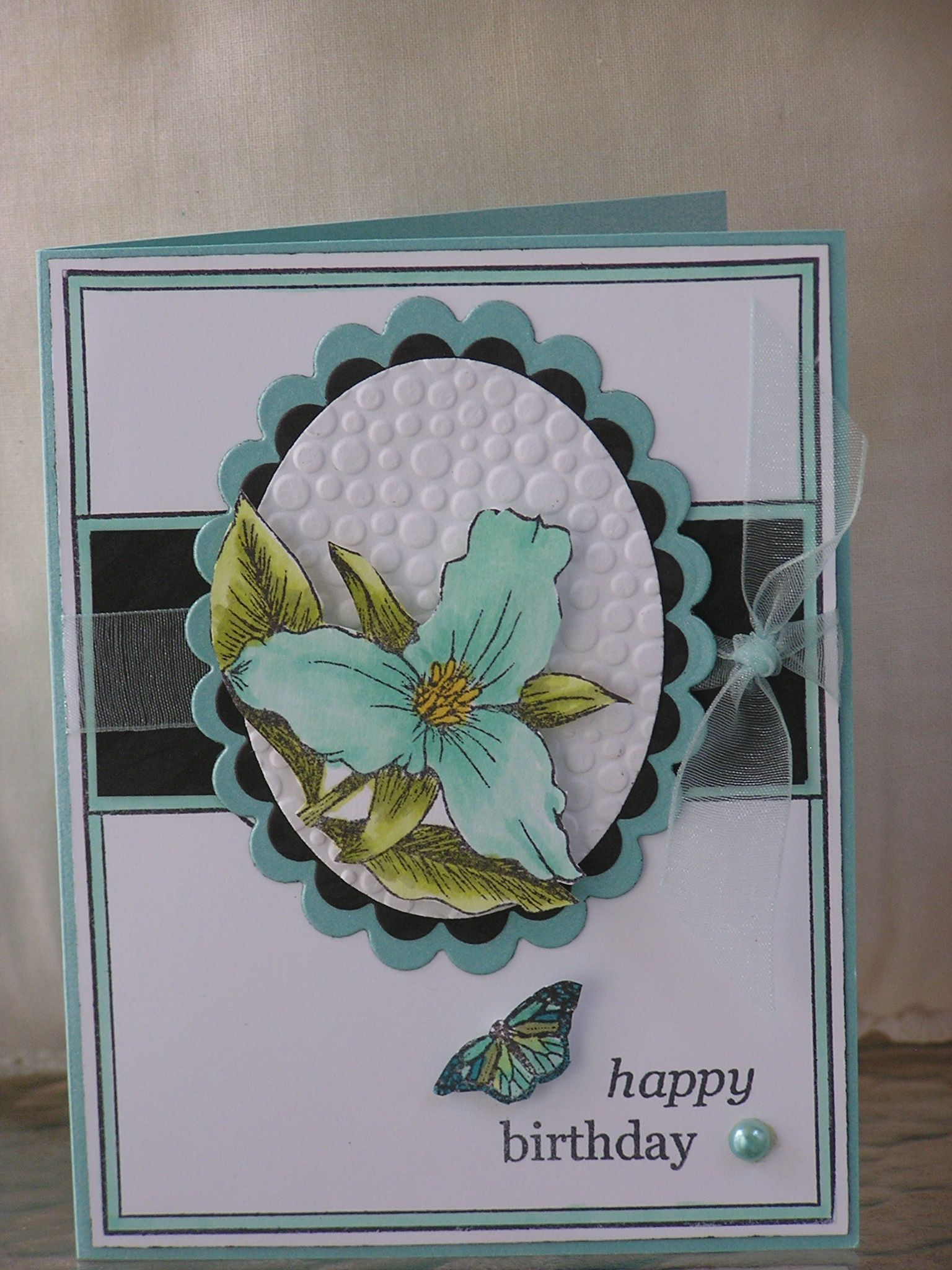 Dimensional Layered Card