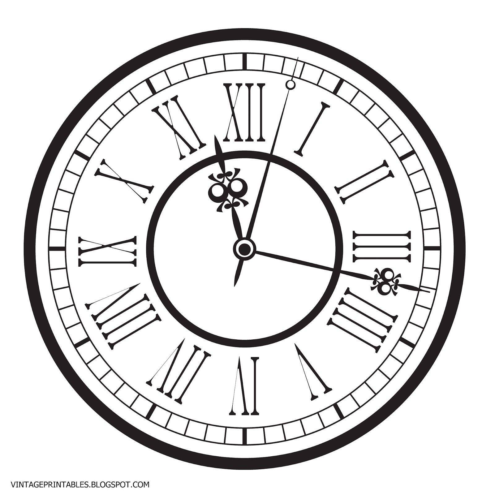 Free Vintage Clip Art Images Old Antique Clock Free Clip