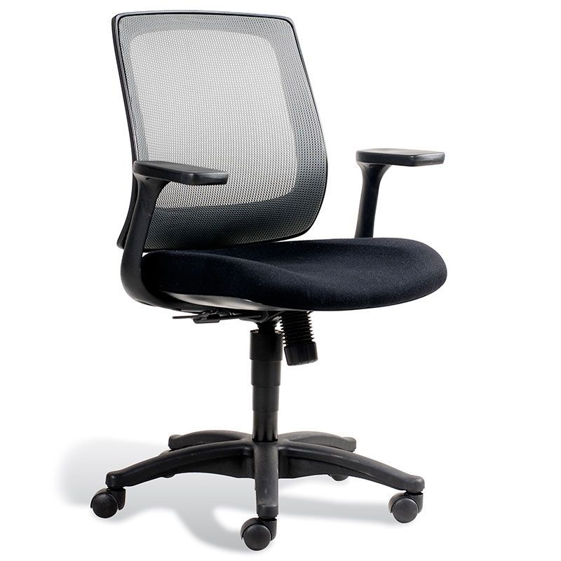 Cayman Office Chair Black Mesh Office Chair Chair Orange