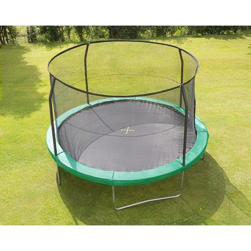 A Safer Trampoline Because Fewer Trips To Er Is A Good Thing Best Trampoline Backyard Trampoline Safe Trampoline