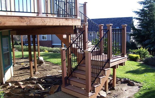 Wood Balcony Railings