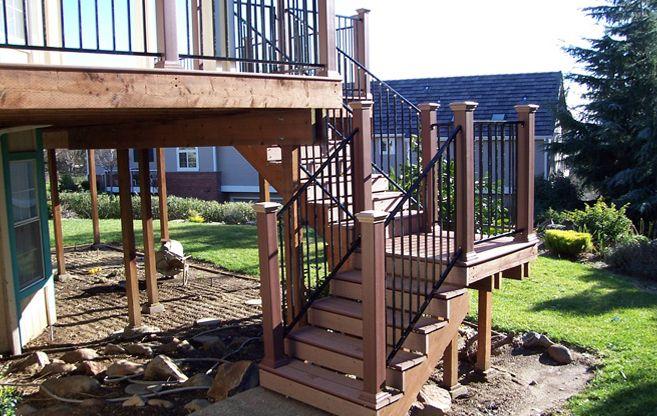 Wood Balcony Railings | ... Wood Decks Sacramento ...