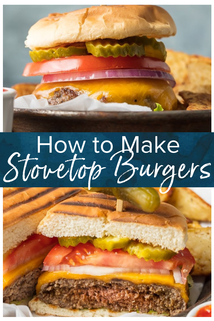 Stovetop Burgers Are Easier Than You Might Think Once We Learned How To Cook Burgers On The Stove I Stovetop Burgers Burgers On The Stove How To Cook Burgers