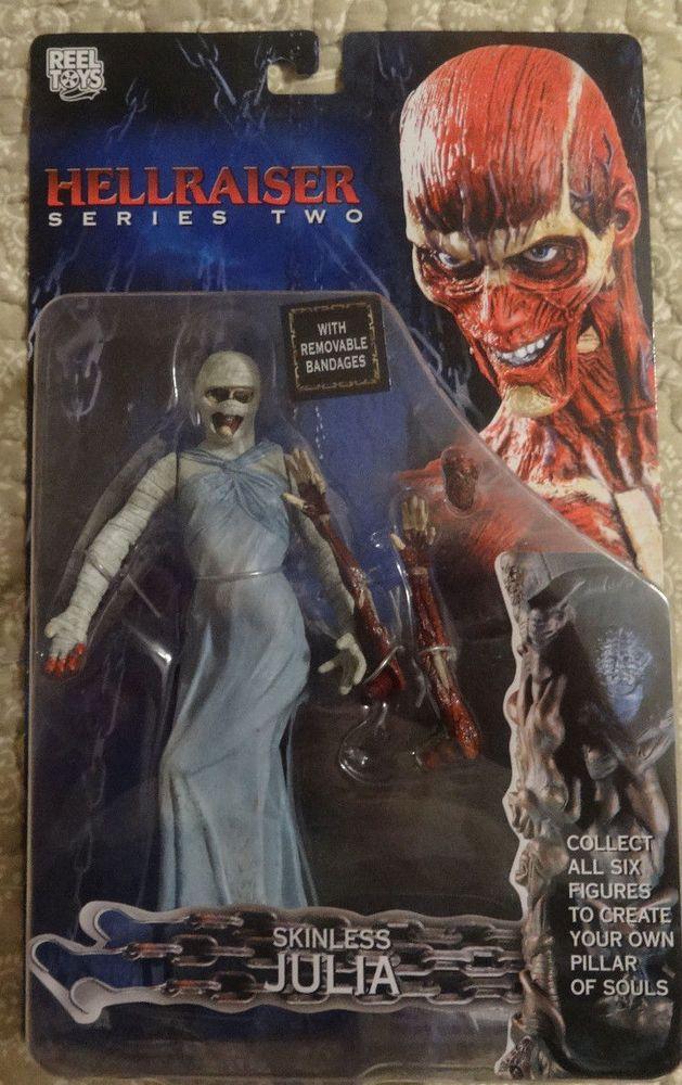 HELLRAISER series 2 SKINLESS JULIA action figure-Clive Barker-Horror-Frank-MOSC