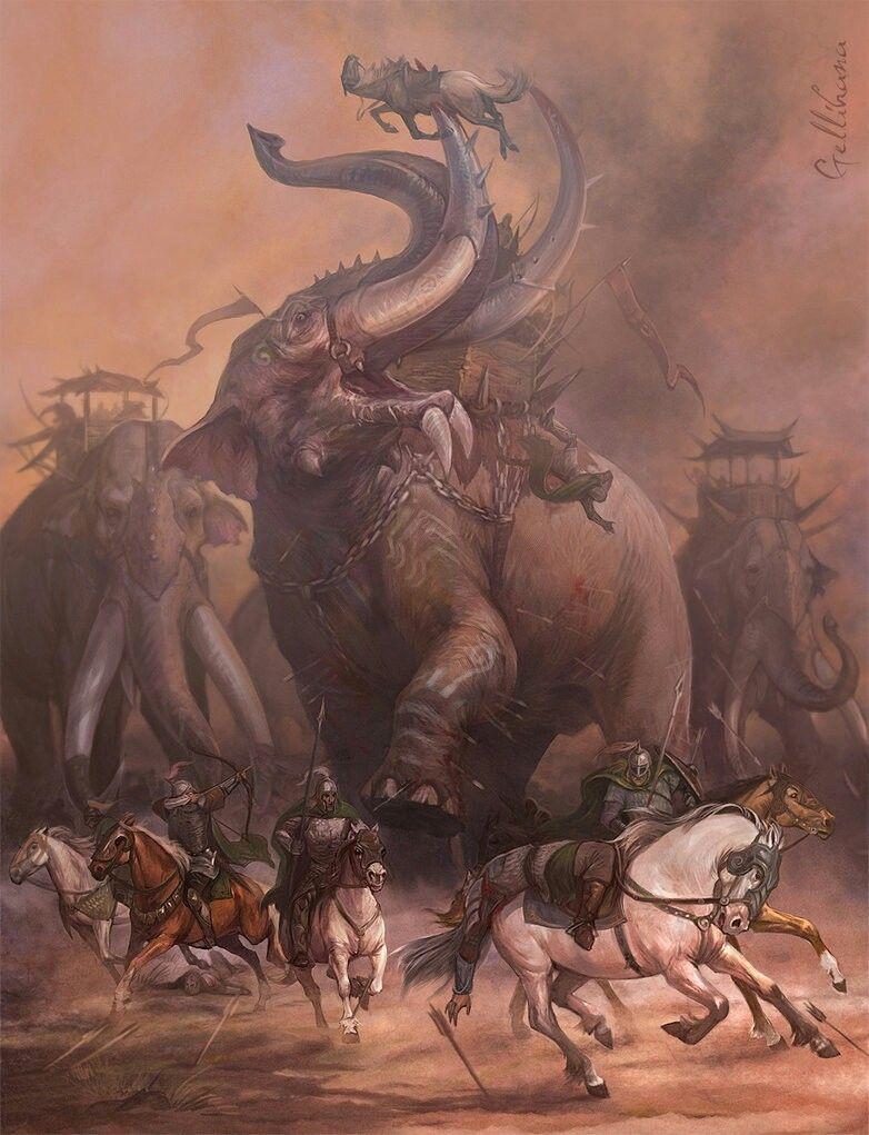 Mumakil Concept Art Pinterest Herr Der Ringe Tolkien And