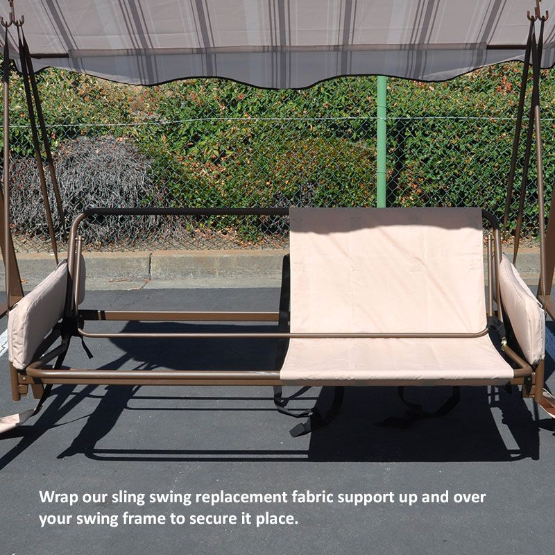 Universal Sling Swing Back Support Garden Swing Seat Outdoor Swing Cushions Outdoor Swing Seat
