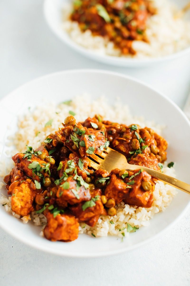 Tempeh Tikka Masala Recipe Vegan Tikka Masala Tempeh Recipes