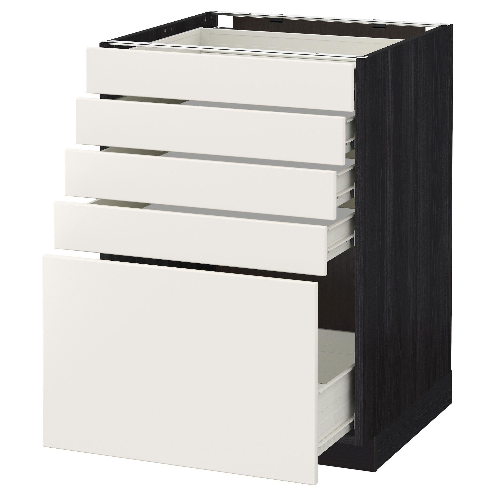 Badezimmer design weiß metod  fÖrvara unterschrank mit  schubladen schwarz weiß jetzt