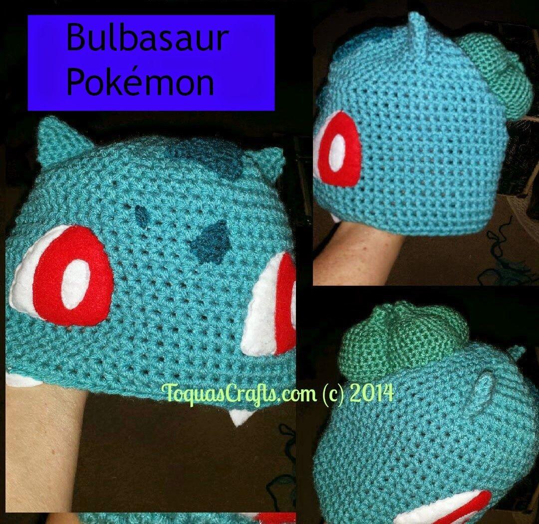 Toqua\'s Crafts: Bulbasaur (Pokémon) Free Pattern and Tutorial ...