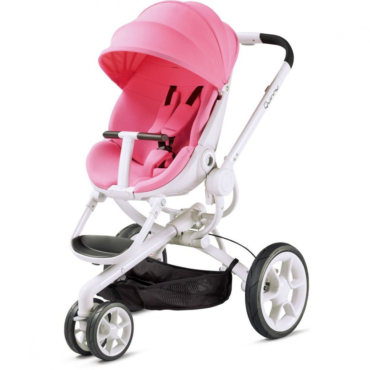 The Quinny Moodd Pram In Pink White Its Really Is A Stunner