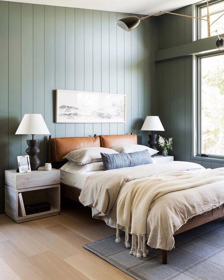 Blair Taupe Sage Green Bedroom Home Decor Bedroom Lakehouse Bedroom