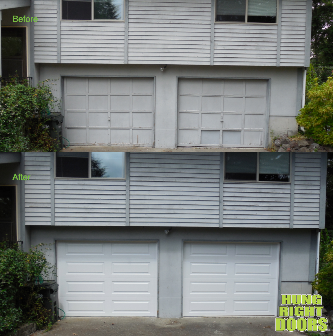 Here Is A Garage Door Facelift In Olympia Washington Httpwww