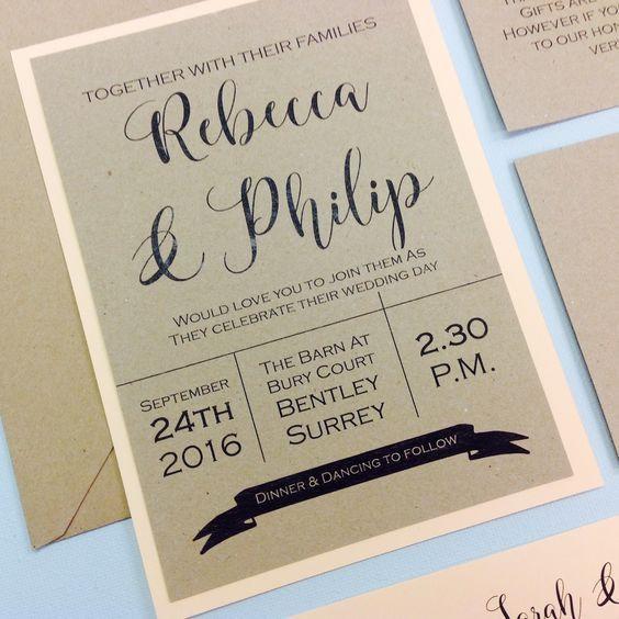 Simple Ways To Pimp Up An Inexpensive Wedding Invitation