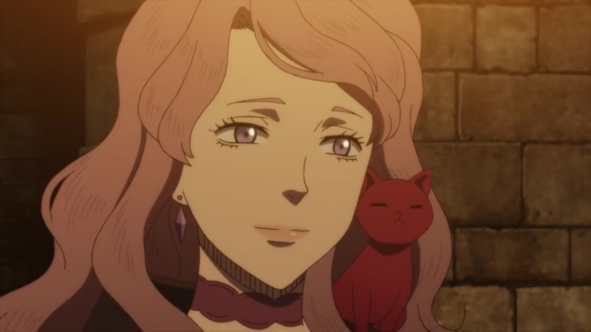 Black Clover Vanessa, thread of fate cat (her new spell