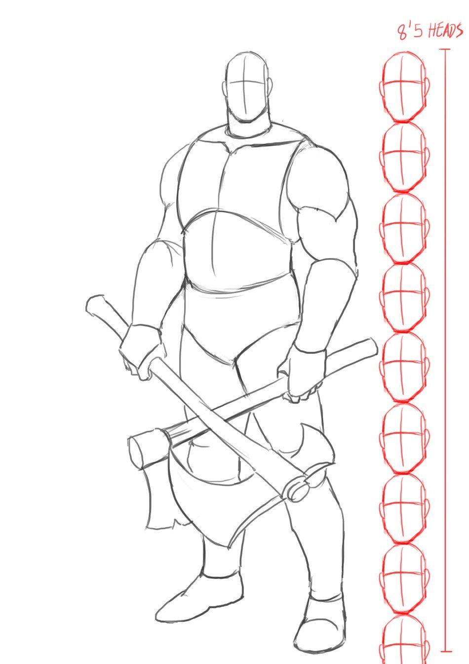 Improveyourdrawings Com Tutoriais De Desenho A Lapis Kratos
