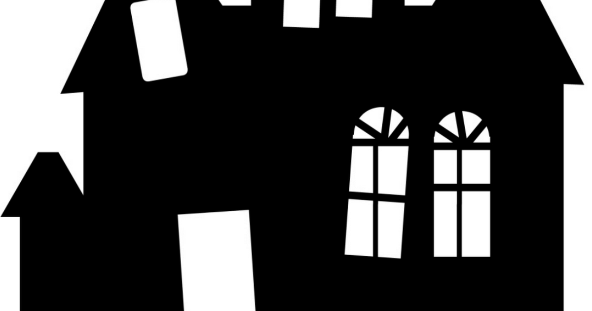 Haunted House Outlines pdf - Google Drive | Halloween and