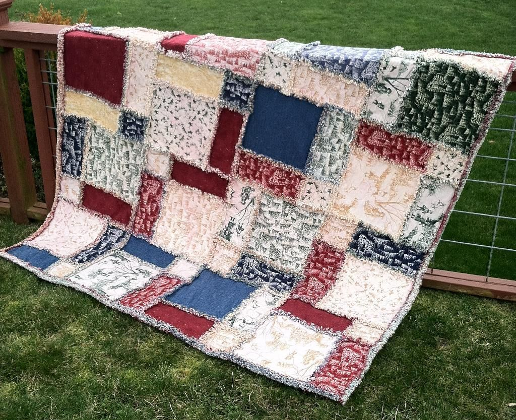 You Have To See Twisted Rag Quilt Large Size On Craftsy Rag Quilt Patterns Flannel Rag Quilts Rag Quilt