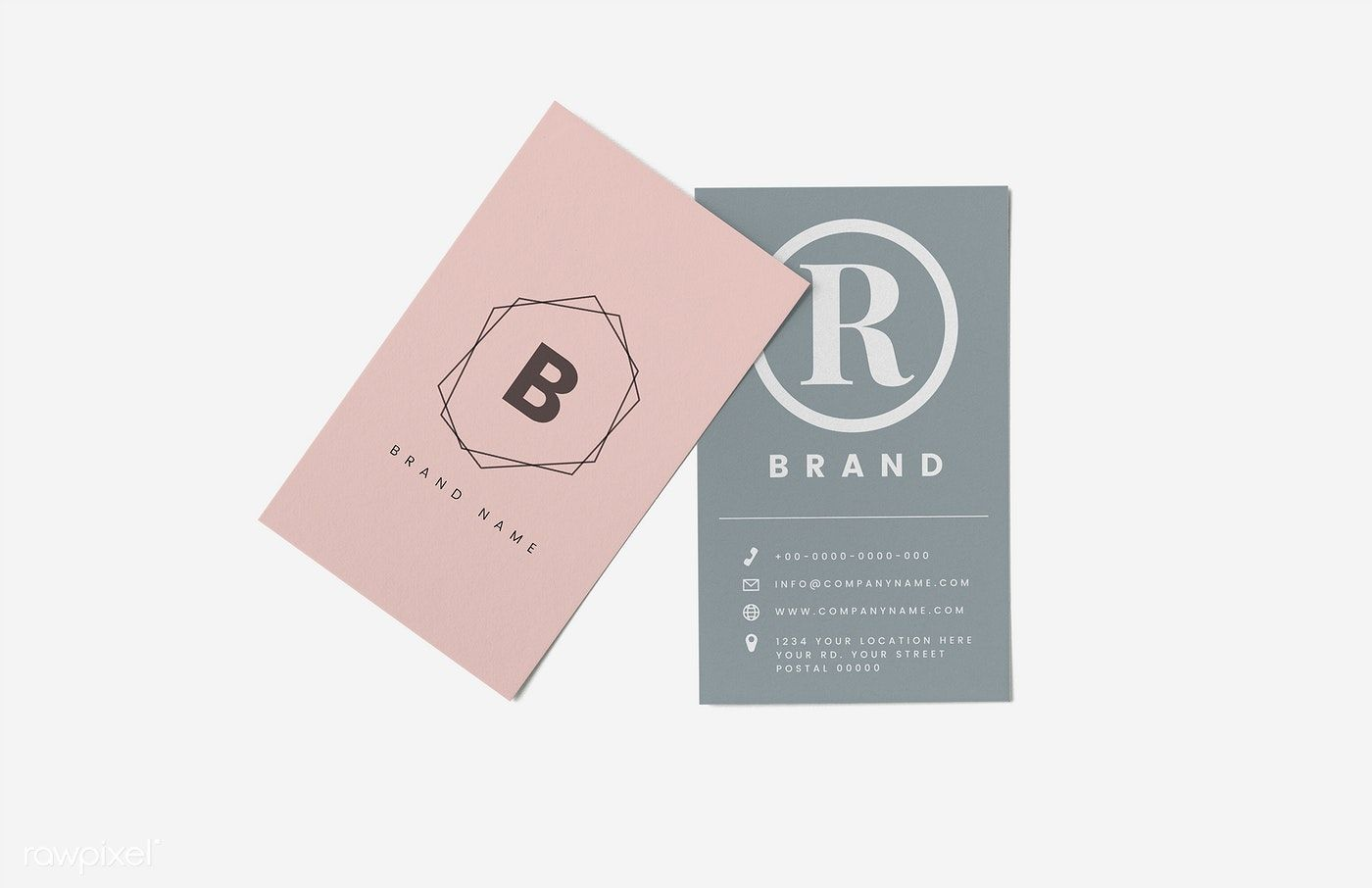 Business Card And Name Card Mockup Free Image By Rawpixel Com