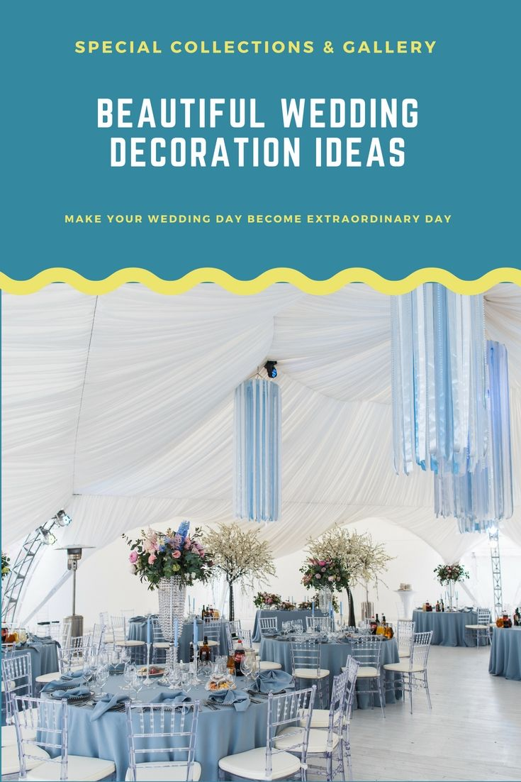 Liven Up Your Own Wedding Celebration Decoration By One Of These