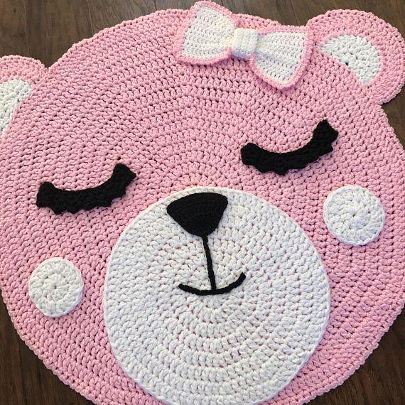 Crochet Rug Pattern Bear