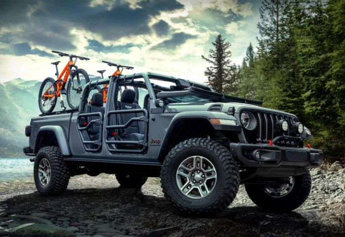 2020 Jeep All New Gladiator Spy Shots Release Date Price Jeep