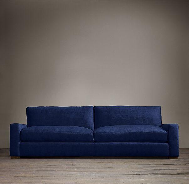 Restoration Hardware 7 maxwell upholstered sofa perennials