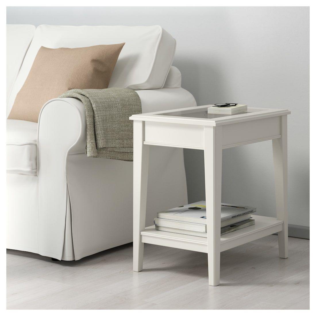 Liatorp Beistelltisch Weiss Glas Ikea Osterreich Liatorp Ikea Side Table White Side Tables