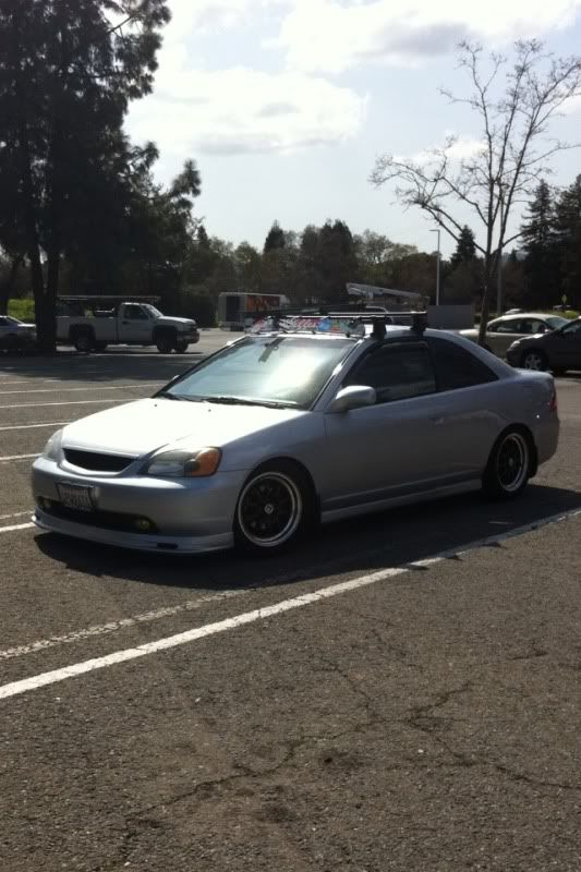Can T Wait To Get A Rood Rack 5o Carry A Kayak On My 7th Gen Honda Civic Ex Honda Civic Civic