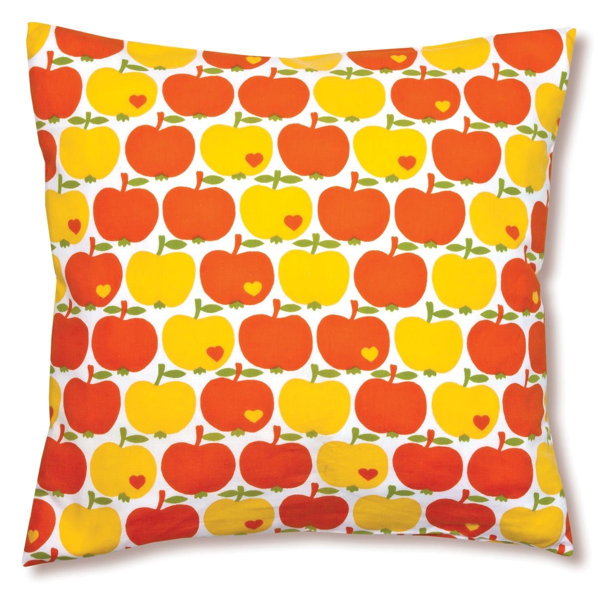 Apfel Kissenbezug Orange Apple Pillow Case In Orange Matches