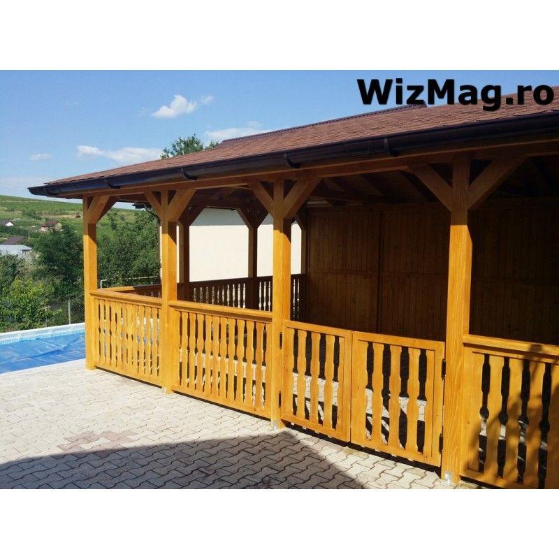 Foisor Dreptunghiular De Gradina Bran House Styles Outdoor Structures Gazebo