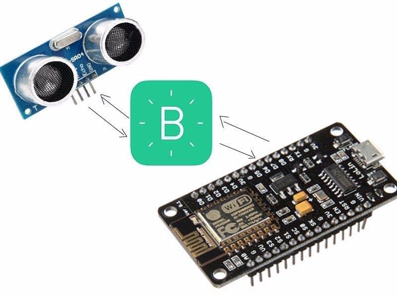 Ultrasonic Sensor With Blynk And Nodemcu Sensor Esp8266 Projects Arduino Projects