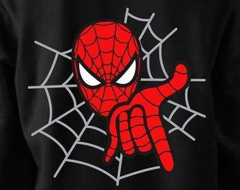 Spiderman SVG  Spiderman Shirt svg  Spiderman Digital Clip | Etsy -   12 disguise a turkey project boy spiderman ideas