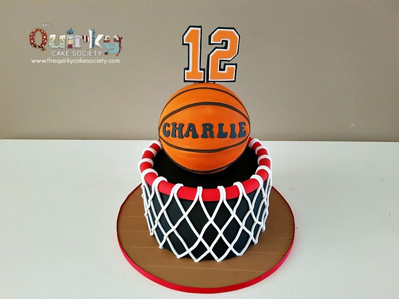 Cool Basketball Hoop Cake Basketball Cake Basketball Birthday Cake Funny Birthday Cards Online Unhofree Goldxyz