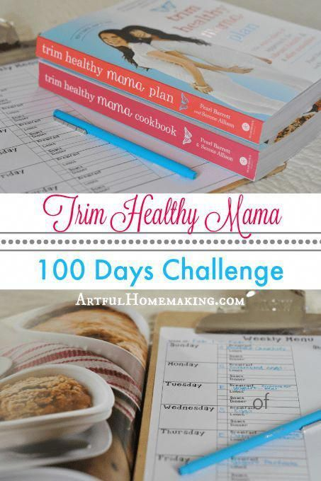 I challenged myself to 100 days of Trim Healthy Mama and ...