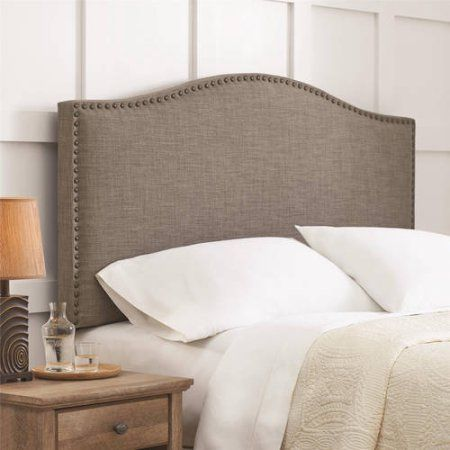 Better Homes and Gardens Grayson Full/Queen Linen Upholstered ...