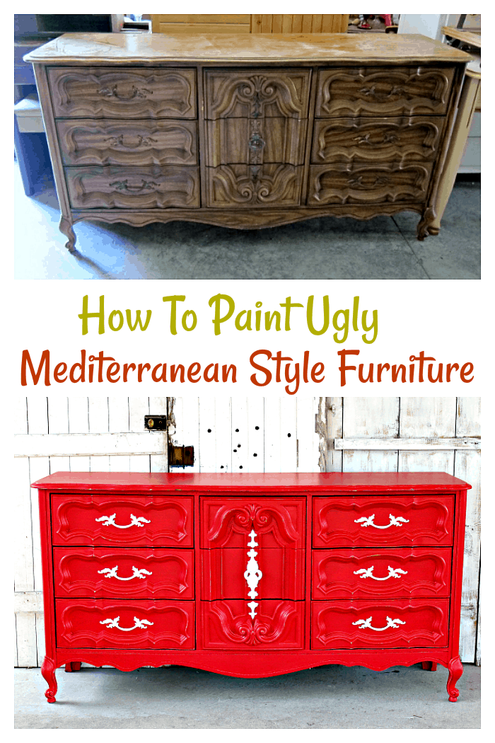 How To Paint Plastic Furniture From The 70 S Make It Look Good