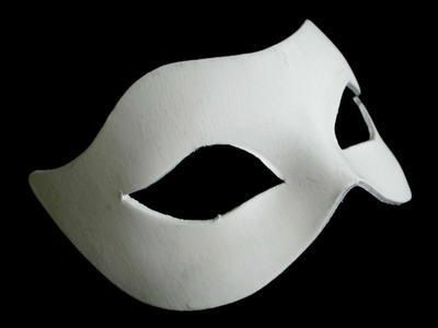 Plain Masquerade Masks To Decorate Blank Clementine Venetian Masquerade Mask  White  Masks