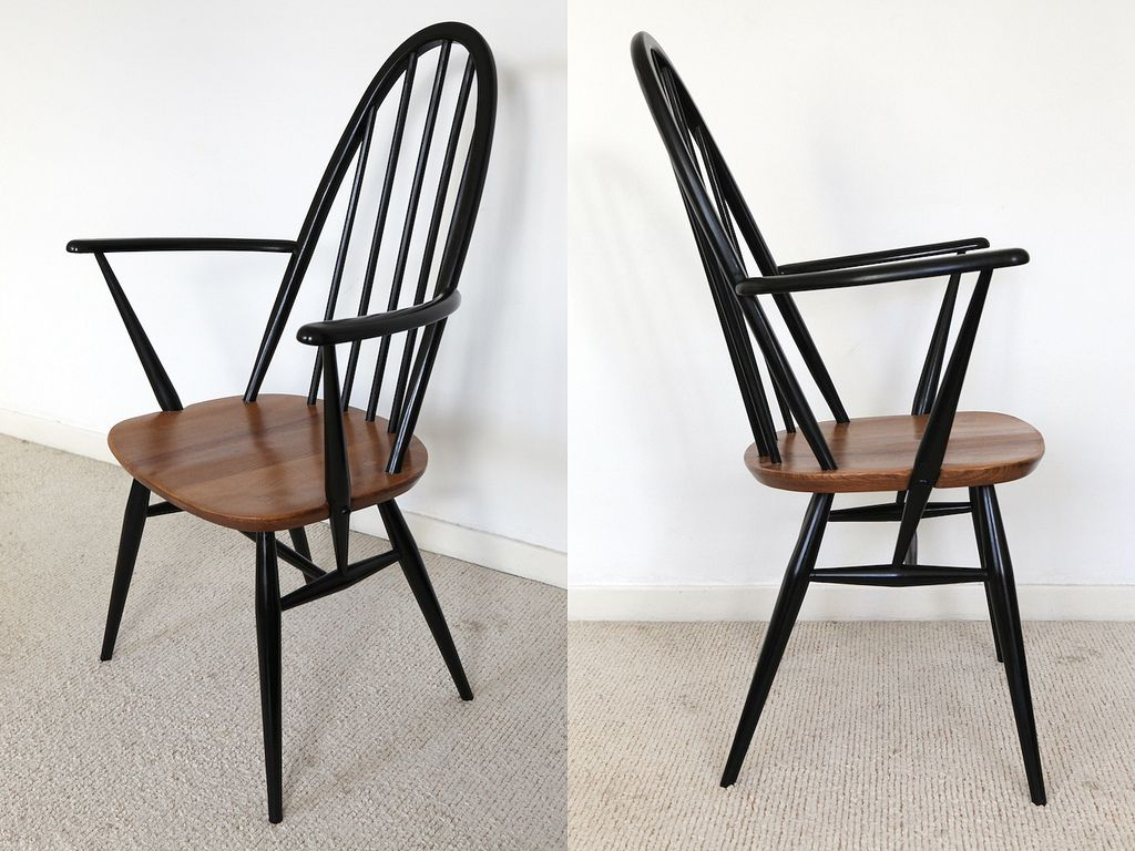Ercol Quaker Carver Chair Ercol Dining Chairs Painted Dining