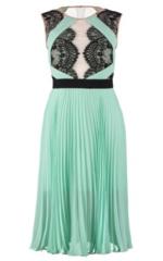 BCBGMAXAZRIA - Arianne Pleated Dress - Designer Dress Hire