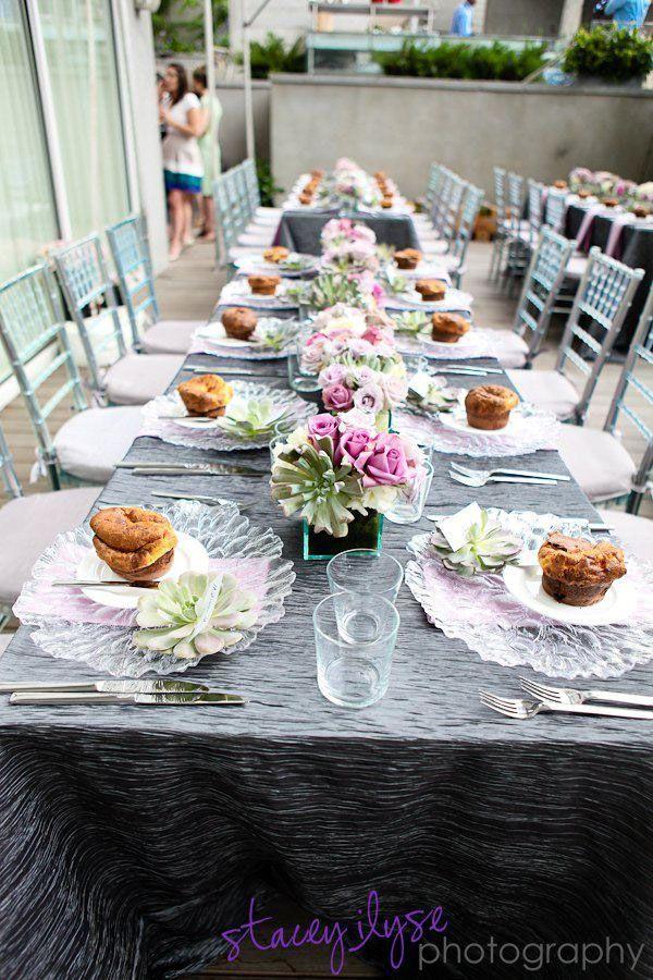 Beautiful Brunch Table setting