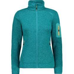 Photo of Cmp Damen Unterjacke Knitted Melange Fleece Woman Jacket, Größe 46 In Lake-Solarium, Größe 46 In Lak