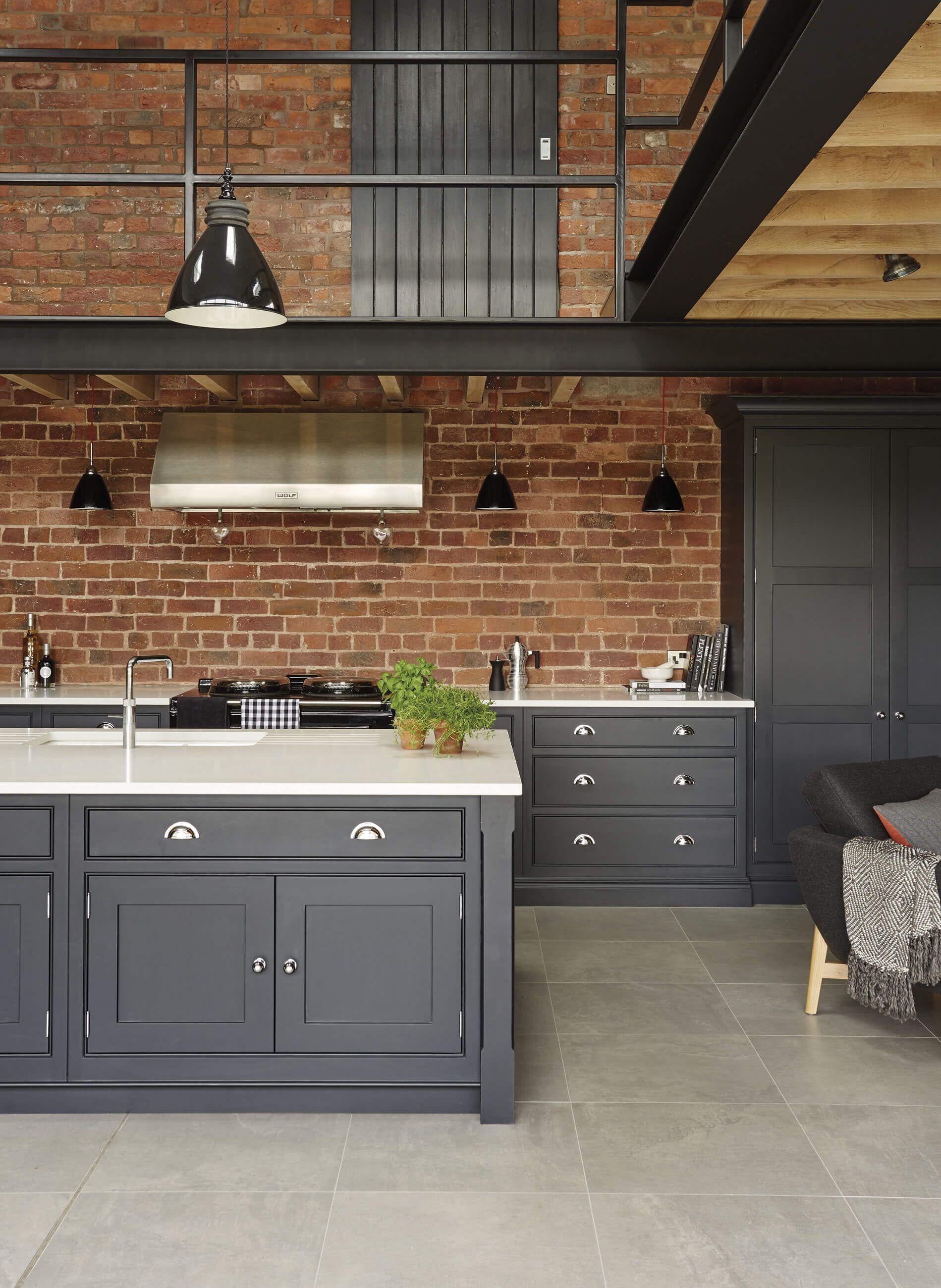 La Cocina De Estilo Industrial Industrial Style Kitchen Industrial Decor Kitchen Industrial Kitchen Design