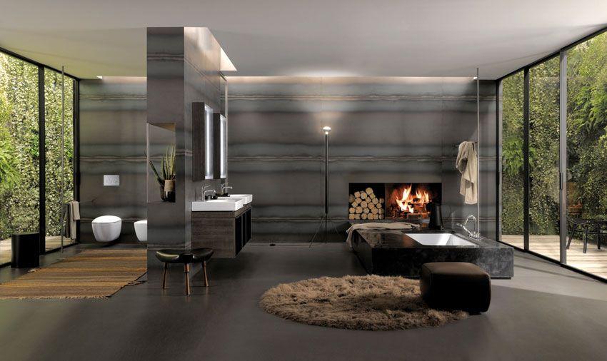 Badezimmer exklusiv ~ Wohntrend bäder mit lounge charakter exklusiv
