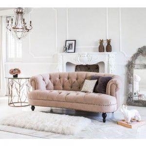 Chablis & Roses Sofa. #Rosequartz #Pantone  #Frenchbedroomcompany
