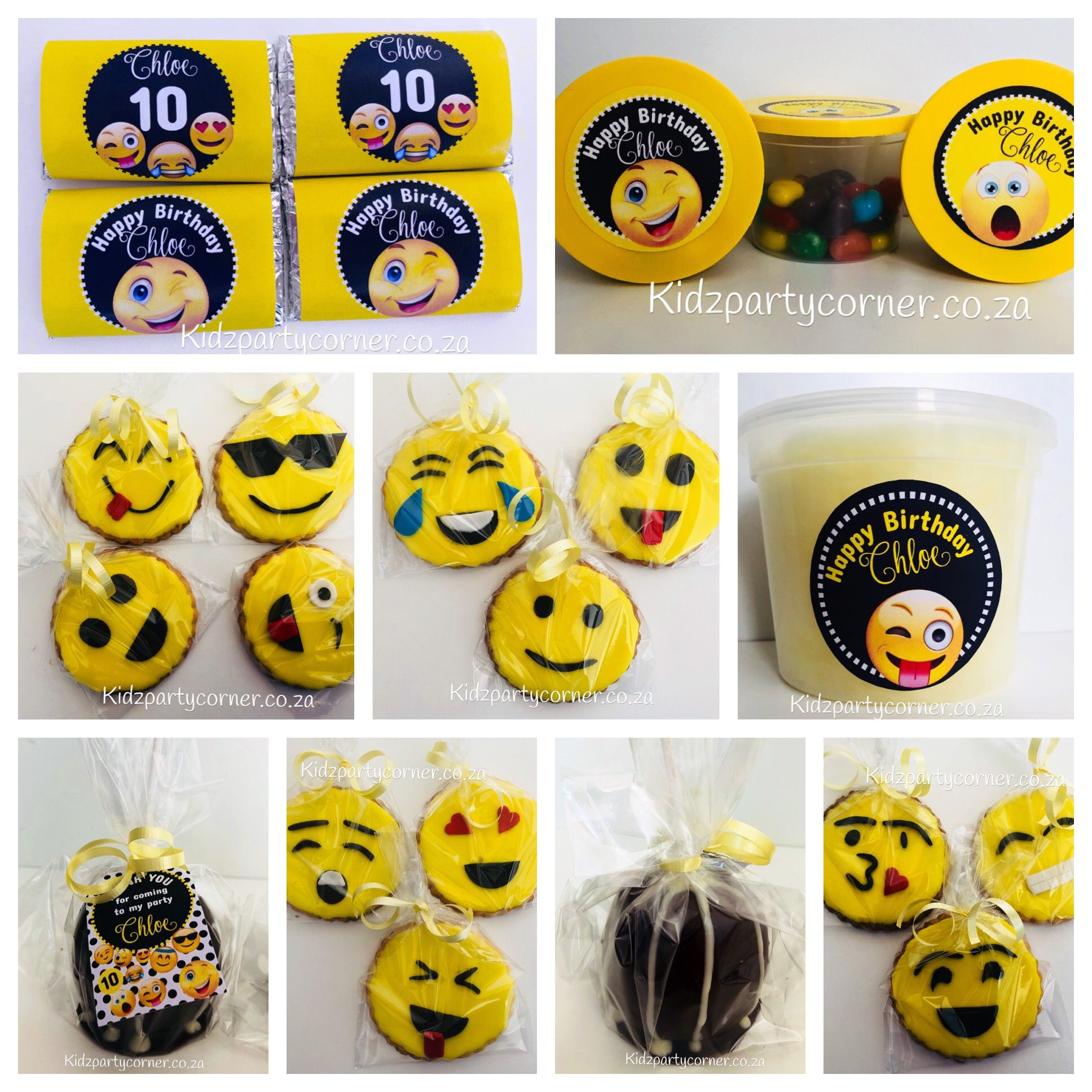 Emoji Theme Party Supplies Favours And Decor We Design